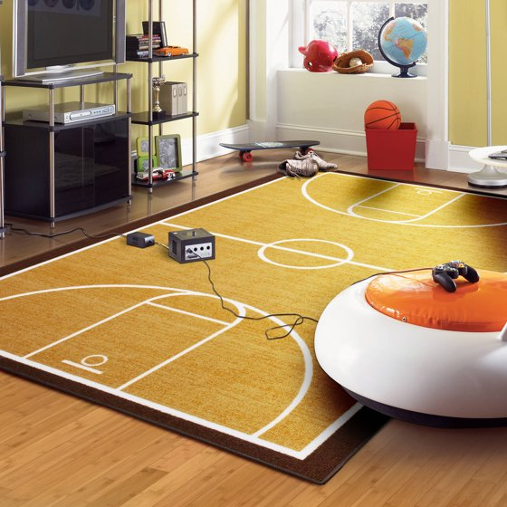 Mainstays Basketball Court Area Rug