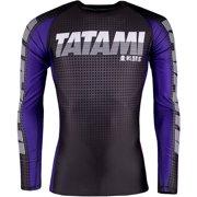 Tatami Fightwear 2017 IBJJF Rank Long Sleeve MMA Rashguard - Purple