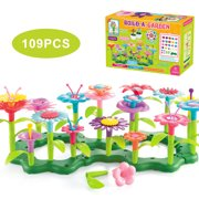 Flower Garden Building Toy BPA Free Educational Stem Toys for Children 3-6 Years Old