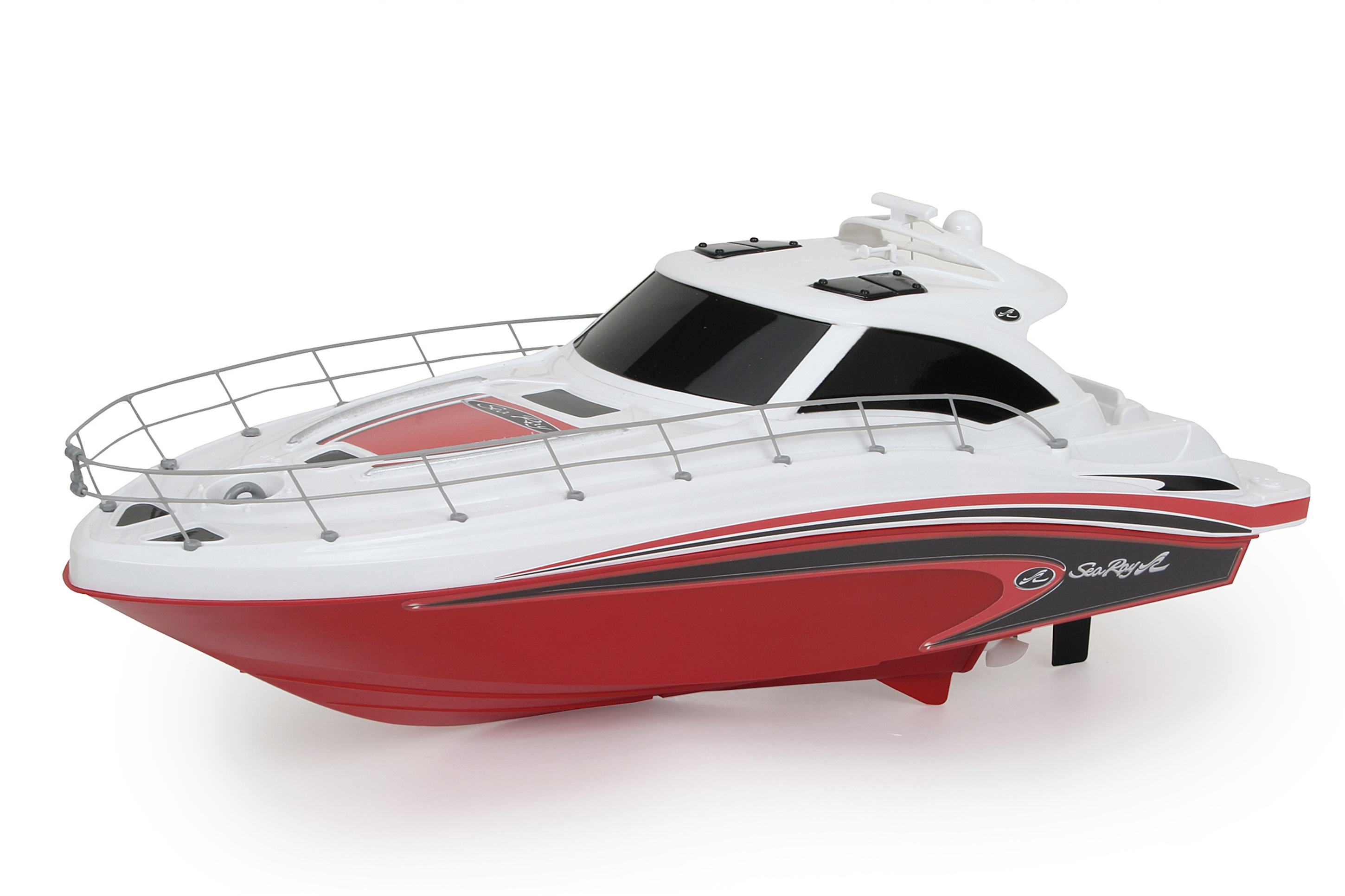 "New Bright 18"" Radio Control Full-Function Sea Ray Boat, Red by New Bright"