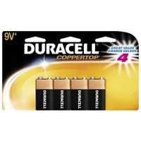 Duracell CopperTop 9-volt Batteries