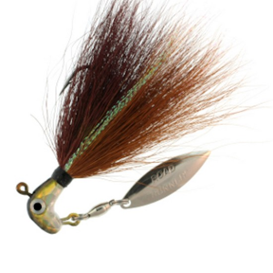 Blakemore BP-18-116 Bucktail Pro Runner 1 8 oz Pumpkin Shad by Blakemore