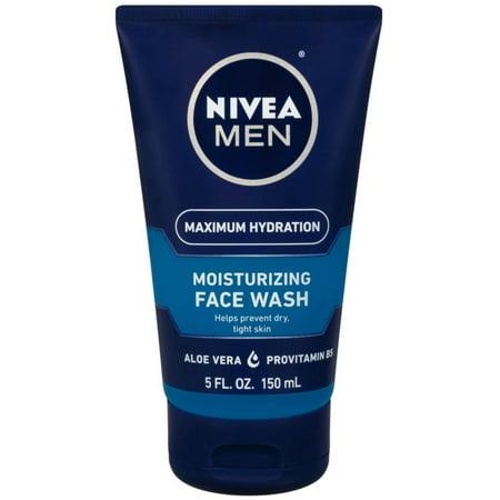 2 Pack - NIVEA FOR MEN Original Moisturizing Face Wash 5 oz