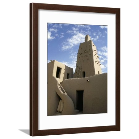 Djinguereber Mosque, Timbuktu (Tombouctoo), Unesco World Heritage Site, Mali, Africa Framed Print Wall Art By Jenny Pate Oregon Pate Board