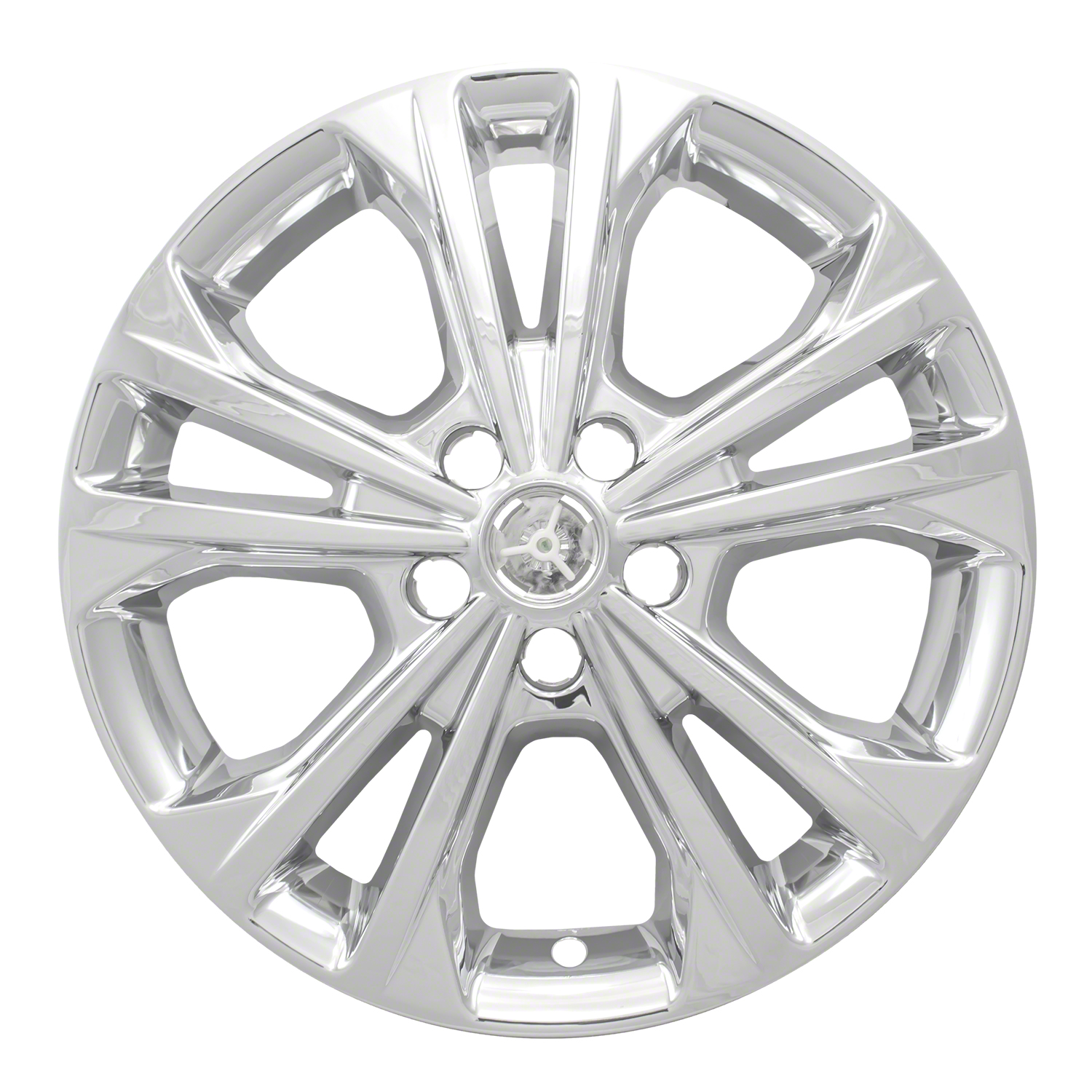 Coast To Coast International IWCIMP414X Wheel Cover IMPOSTOR (R) 17 Inch; 5 Double Spoke; Chrome Plated; Plastic; Set Of 4; Not Compatible With Steel Wheels - image 1 of 1