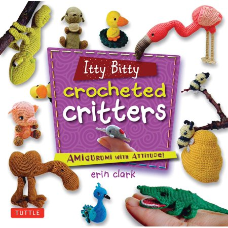 Itty Bitty Snowflakes - Itty Bitty Crocheted Critters : Amigurumi with Attitude!