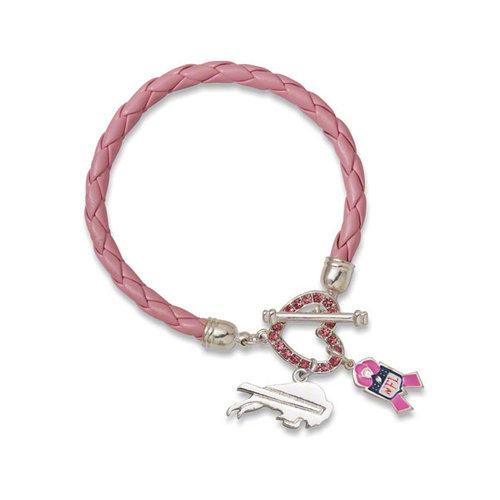 NFL - Buffalo Bills Breast Cancer Awareness Bracelet