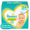 Pampers Swaddlers Soft and Absorbent Diapers, Size 3, 168 Ct