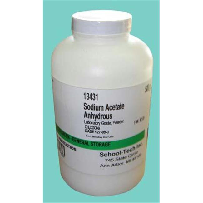 Olympia Sports 13431 Sodium acetate lab grade anhydrous