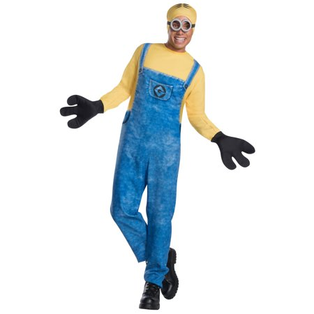 Mens Minion Dave Costume - Minion Homemade Halloween Costume