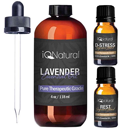 Lavender 4oz Essential Oil Set
