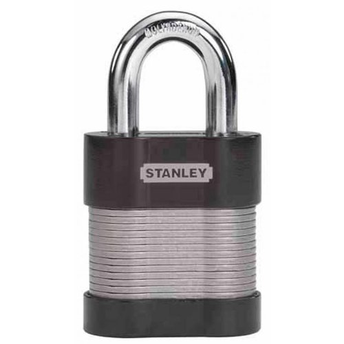 Stanley Hardware 0830810 2 inch 50 mm Laminated Security Lock