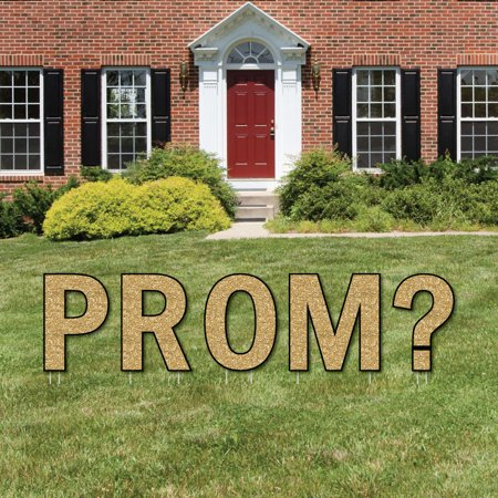 Promposal - Yard Sign Outdoor Lawn Decorations - Prom Proposal Yard Signs - PROM? - Decorations For Prom