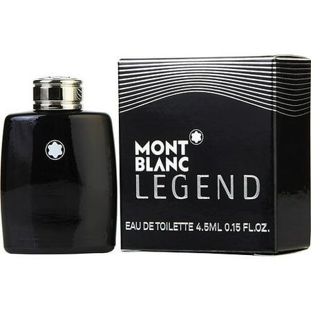 Mont Blanc Legend by Montblanc for Men - 0.15 oz EDT Splash (Mini)](mont blanc legend perfume price)