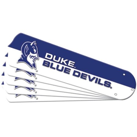 - Ceiling Fan Designers 7992-DKE New NCAA DUKE BLUE DEVILS 42 in. Ceiling Fan Blade Set