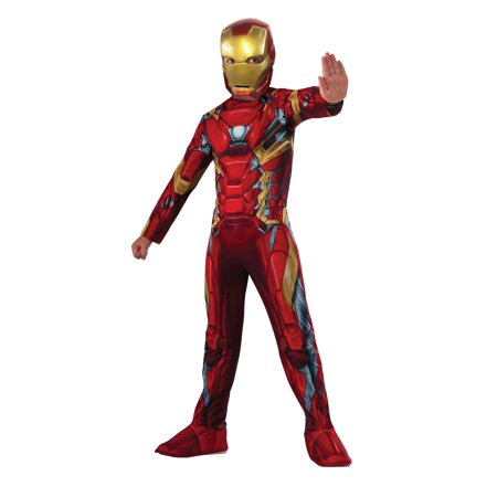 Kids Iron Man Captain America Movie 3 Costume