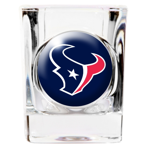 Houston Texans Official NFL Square Shot Glass by Great American Products 753202