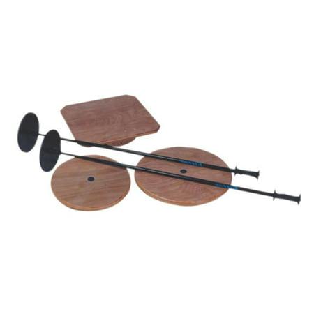 Balance Poles (Fabrication Enterprises 10-1133 Wobble Board Balance Aides -)
