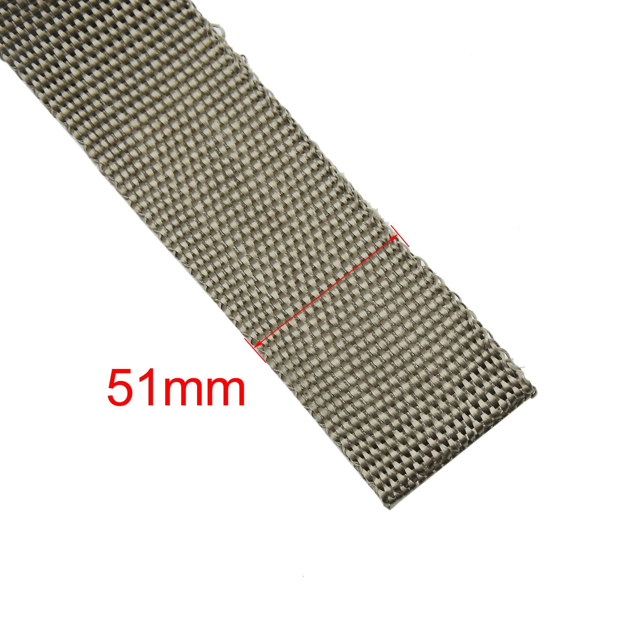 7.5M Titanium Fiber Exhaust Heat Insulating Wrap Sealing Tape for Car - image 4 of 5