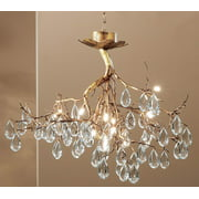 Morning Dew Chandelier Light (Natural Bronze)