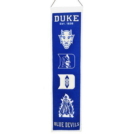 Ncaa Applique Banner (NCAA Heritage Banner, Duke University Blue Devils )