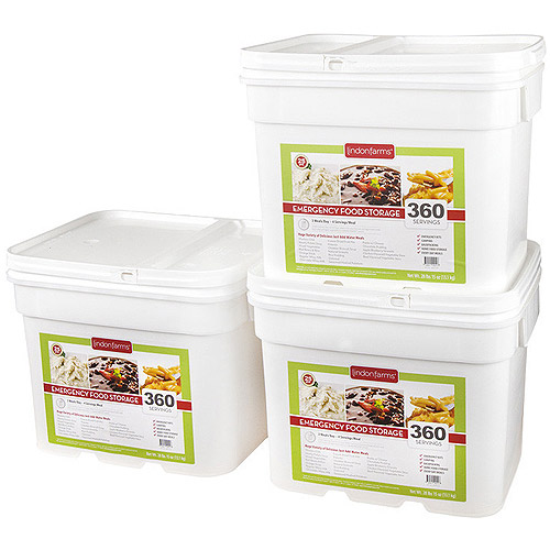 Lindon Farms 1080 Servings Freeze Dried Food Survival Emergency Storage Meals