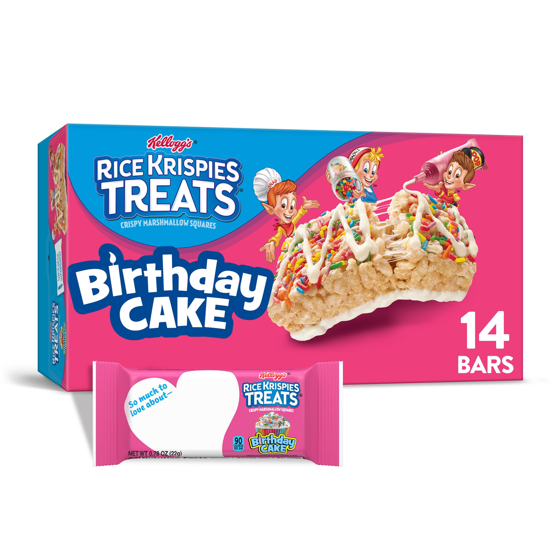Wondrous Kelloggs Rice Krispies Treats Crispy Marshmallow Squares Birthday Personalised Birthday Cards Sponlily Jamesorg