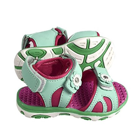 f740ef64aa1 Peach Couture Kids Toddler Open Toe Beach Water Shoes Athletic