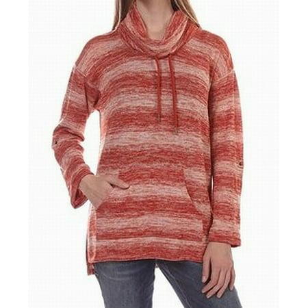 Ruby Rd. Womens Medium Drawstring Cowl Neck Sweater