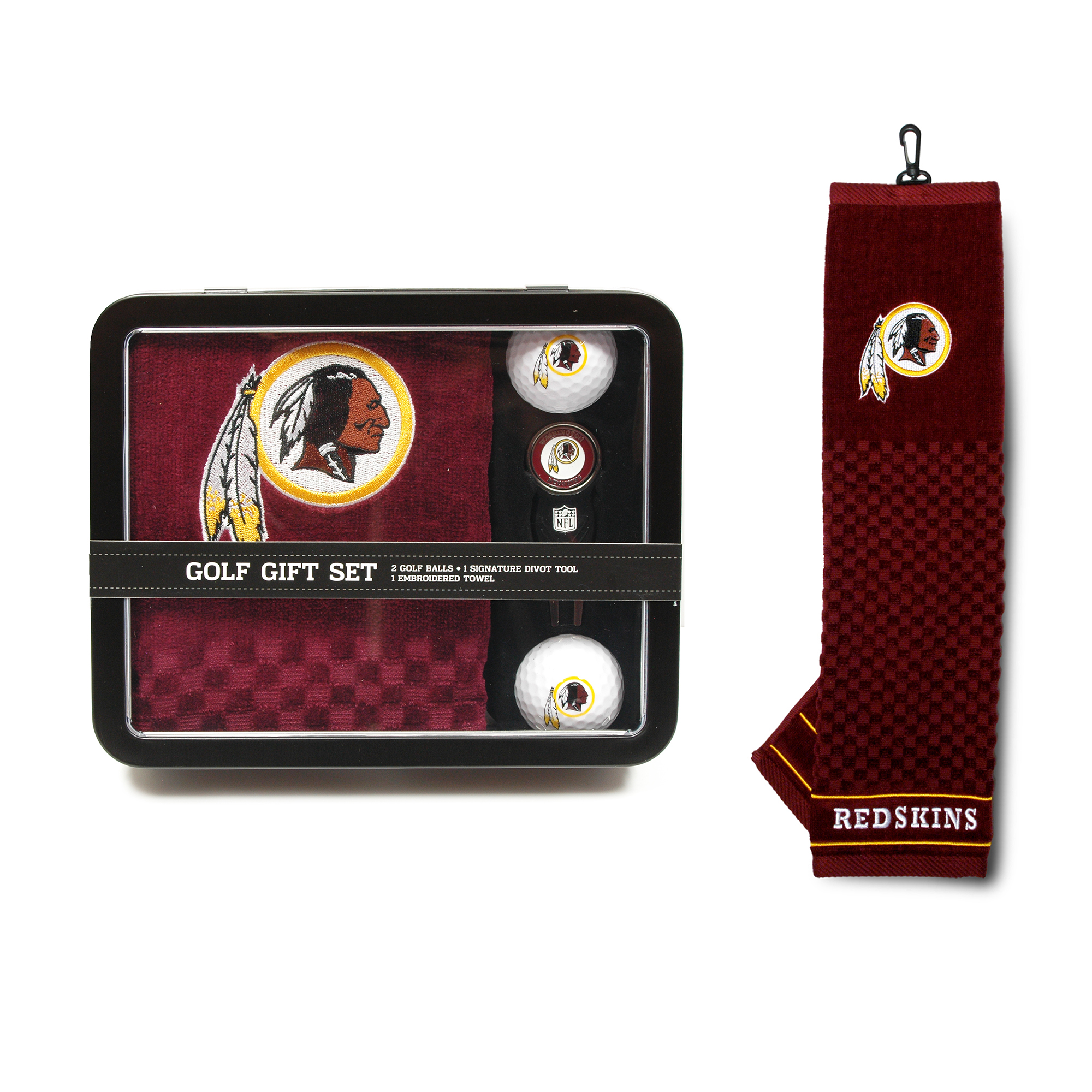 Washington Redskins Golf Gift Set with Towel
