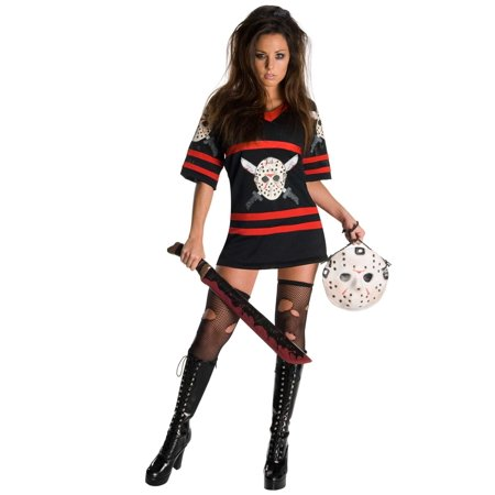 Women's Sexy Friday the Thirteenth Jason Voorhees - Secy Costumes