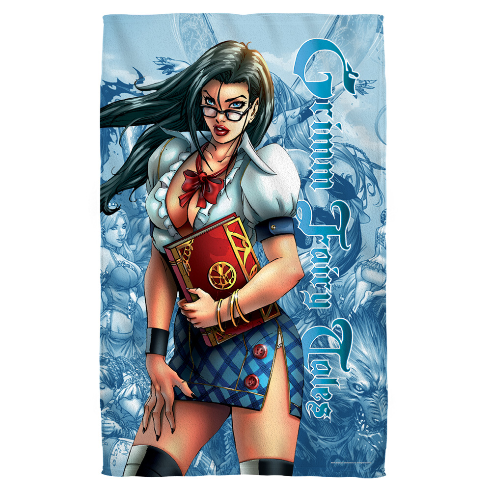 Zenescope Grimmoire Beach Towel White 36X58