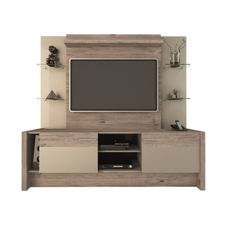 Bowery Hill 74  Entertainment Center In Beige