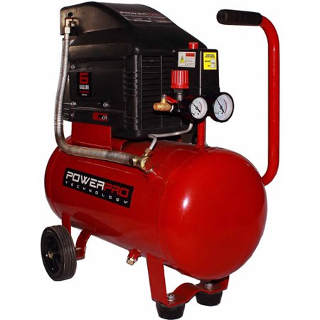 Powerpro 6 Gal Horizontal Tank Oil Lubed Air Compressor