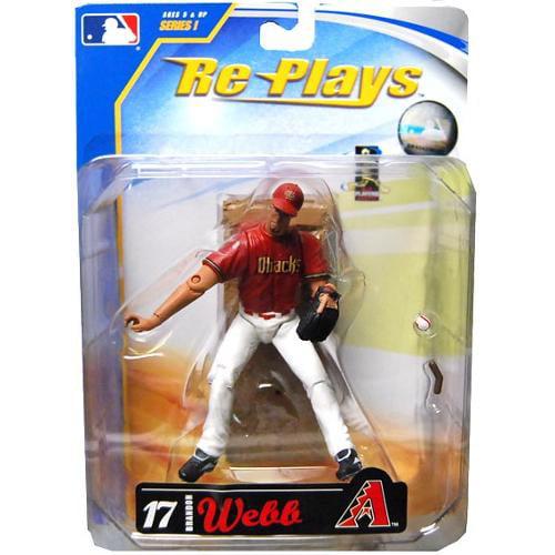 """Major League Baseball 4"""" Action Figure Bradon Webb by Gracelyn"""
