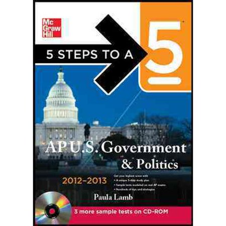5 Steps To A 5  Ap U S  Government   Politics  With Cdrom