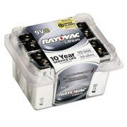 Ray-O-Vac R9VL8 Lithium Batteries - 9V