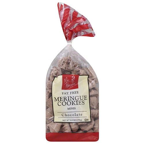Miss Meringue Chocolate Fat Free Meringue Cookies Minis, 6.0 oz, (Pack of 12)