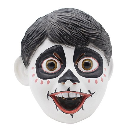 Miguel Rivera Mask Coco Movie Costume Cosplay Dia De Los Muertos Day Of The Dead