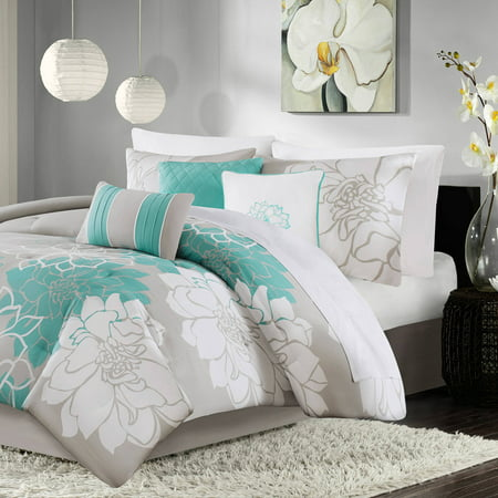 Home Essence Brianna Cotton Sateen Comforter Bedding (Home Essence Brianna 6 Piece Quilt Set)