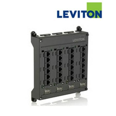 Leviton 476TM-524 CAT 5e Twist and Mount Patch Panel
