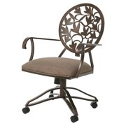 Impacterra Brownsville Arm Chair with Casters