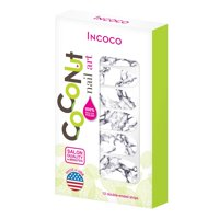 Coconut Nail Art by Incoco Nail Polish Strips, Stone Cold