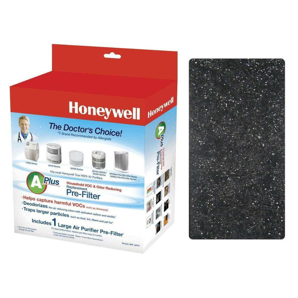 Fits Honeywell HRF-AP1 Type A Air Purifier Filter (2 Pack)