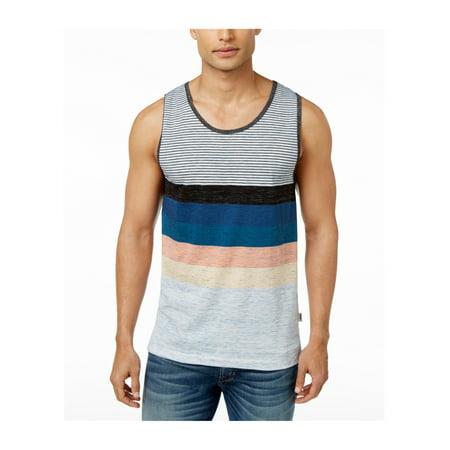 7a7118aa5cc82 Univibe - Univibe Mens Striped Tank Top - Walmart.com