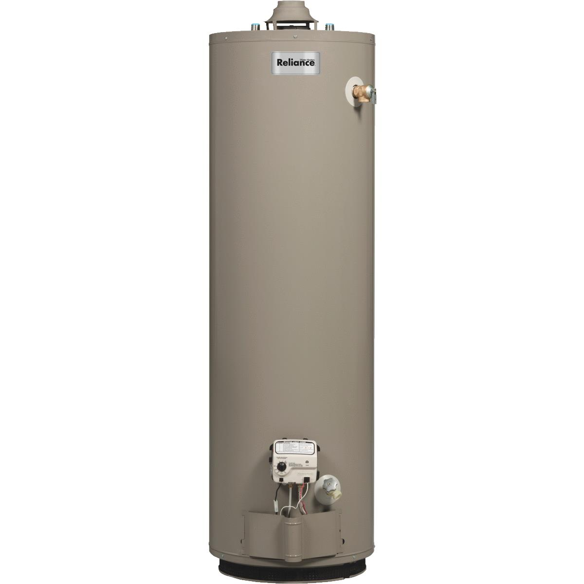reliance natural gas gas water heater with 2 in insulation