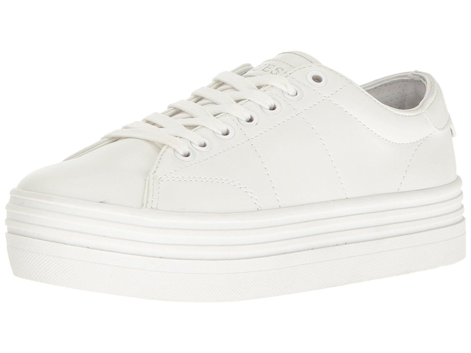 GUESS Womens Alexea2 Low Top Lace Up Fashion Sneakers by Guess