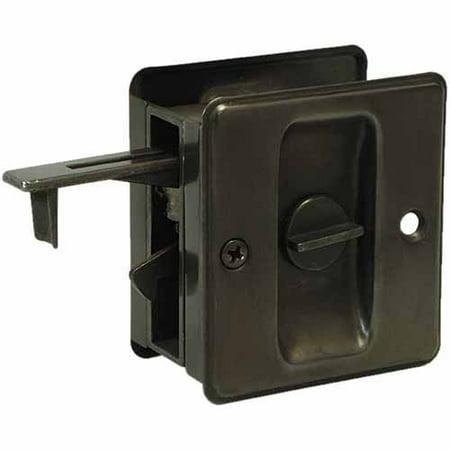 Schlage SC990B-716 Dark Oxidized Satin Bronze Finish Sliding Pocket Door Pull