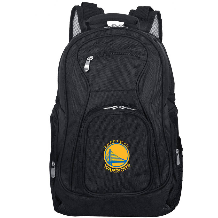 Mojo Licensing Premium Laptop Backpack, Golden State Warriors