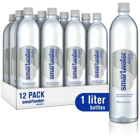 Smartwater, Alkaline, 1L, 12 Count